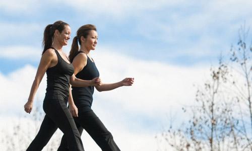Camminare é benessere